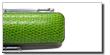 トカゲ革ケースグリーン