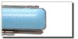 トカゲ革ケースライトブルー